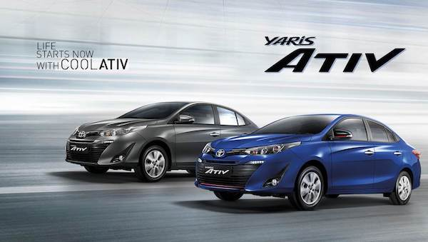 Toyota Yaris Ativ ที่ขายดีอย่างต่อเนื่อง