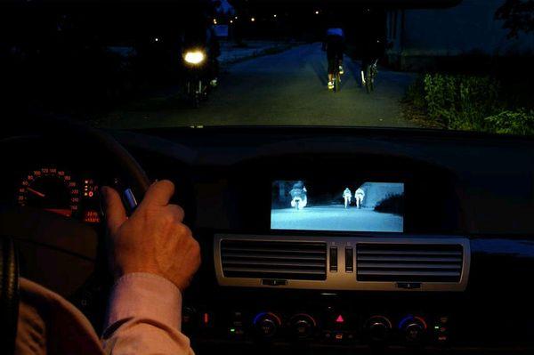 ภาพจากระบบ Active Night Vision