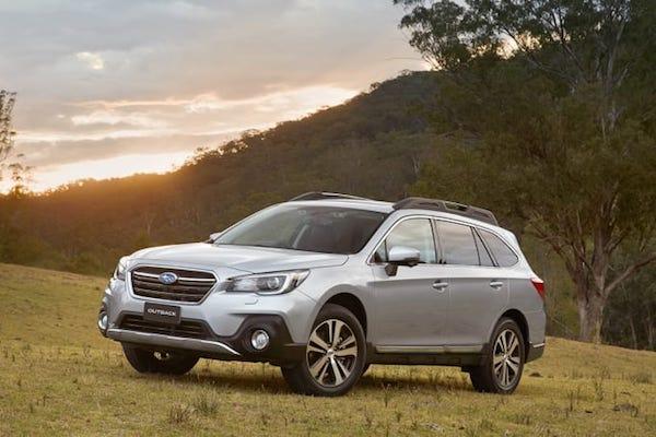 Subaru Outback รุ่นปี 2018