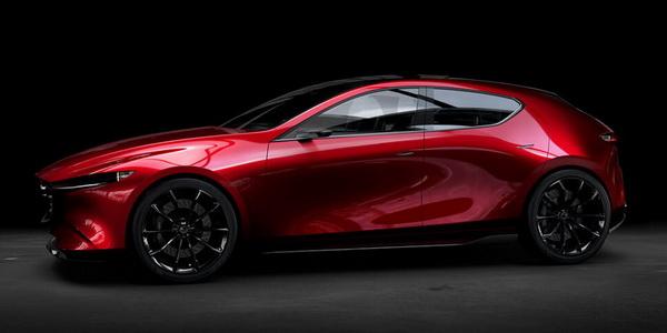 All New Mazda 3 ดีไซน์ด้วย Kai Concept ที่โชว์ให้เห็นความเคลื่อนไวของเส้นสายบนตัวรถ