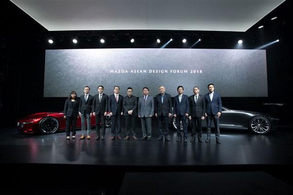 Mazda อวดโฉมรถต้นแบบ KODO Design ในงาน MAZDA ASEAN DESIGN FORUM 2018