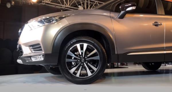 ล้อของ Nissan Kicks 2019