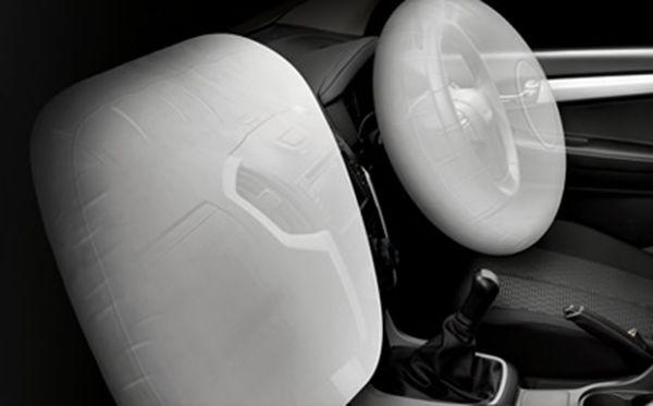 ถุงลมคู่หน้าใน Isuzu D-Max