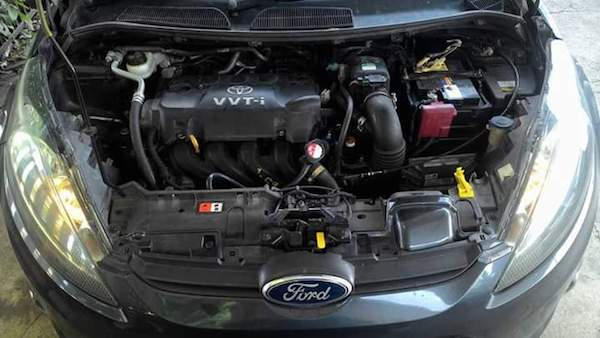เครื่อง 1NZ ใน Ford Fiesta
