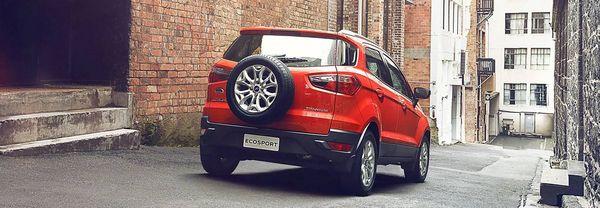 Ford Ecosport ไม่เล็กเกิน ไม่ใหญ่ไป