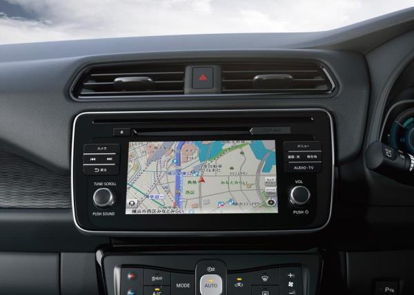 เทคโนโลยีล้ำสมัยใน Nissan Leaf 2018