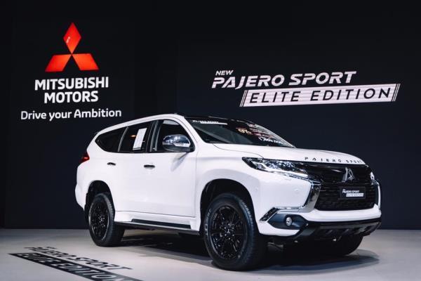ใหม่ ราคาและตารางผ่อน Mitsubishi Pajero Sport 2018 Elite Edtion