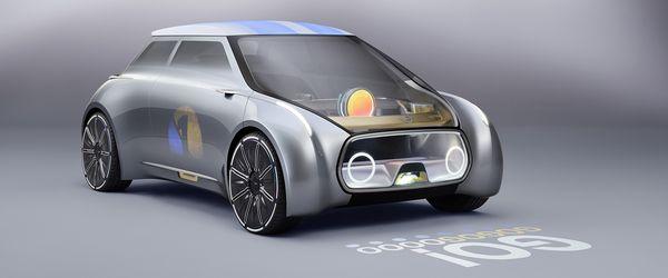 รถยนต์คอนเซ็ปท์ Mini Vision Next พร้อมเทคโนโลยี Projection