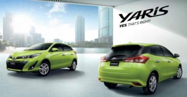 ภายนอก ของ Toyota Yaris
