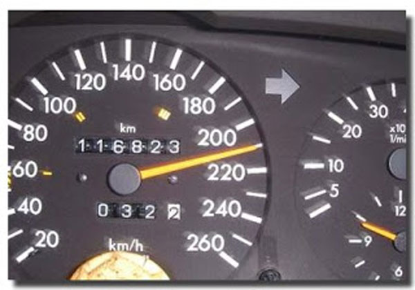เรื่องของการขับรถเร็วเกินกำหนด
