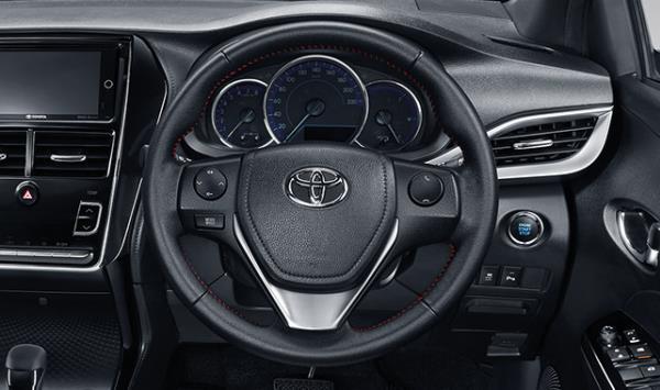 ภายใน Toyota Yaris Hatchback 2018