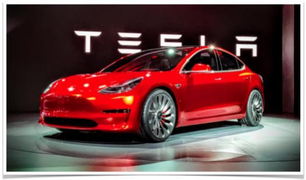 รถยนต์สุดหรูของค่าย Tesla