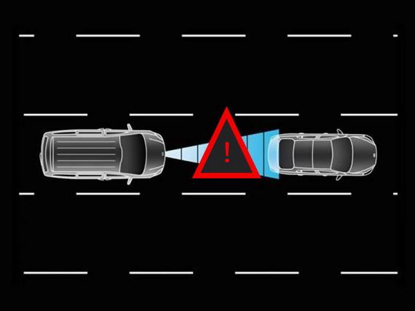 ระบบแจ้งเตือนระยะใกล้รถคันข้างหน้าจนเป็นอันตราย