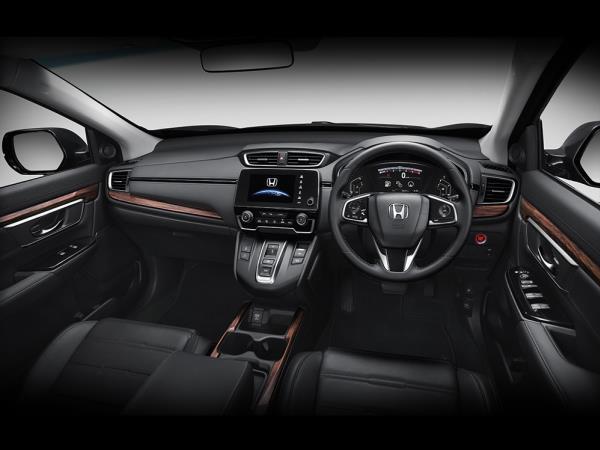 ดีไซน์ภายใน Honda CR-V 2018