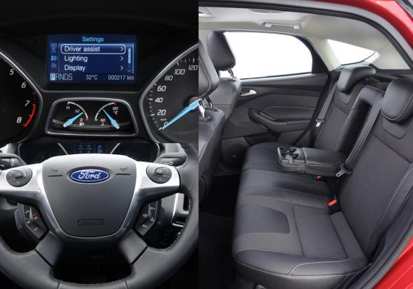 ภายในของ Ford Focus