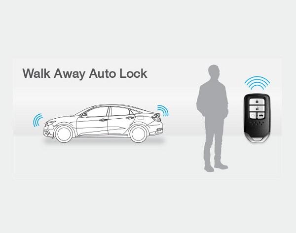 walk away auto lock ระบบล็อกรถอัตโนมัติ