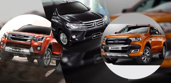 5 อันดับยอดขายรถกระบะทั่วทั้งโลก เป็นรุ่นไหนกันบ้าง