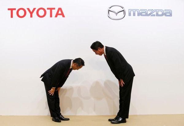 ความร่วมมือของ Toyota และ Mazda ในโครงการรถยนต์ไฟฟ้า