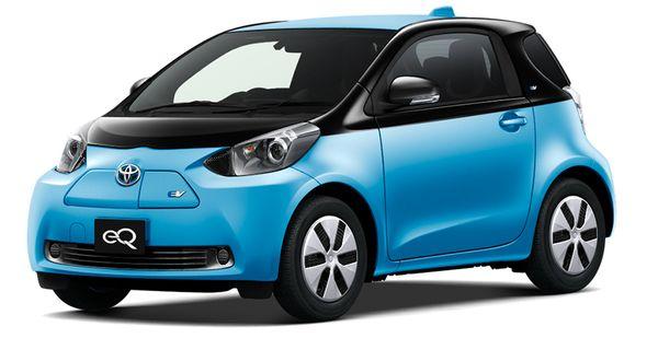 รถยนต์ไฟฟ้าขนาดเล็ก Toyota iQ EV (บางประเทศเรียก eQ) ที่ยอดไม่วิ่งเท่าไร