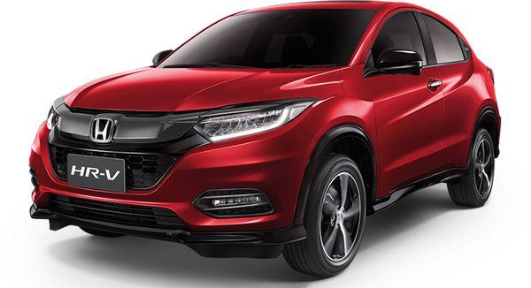 รถยนต์ Honda HR-V เครื่องแรงและดีไซน์โดน