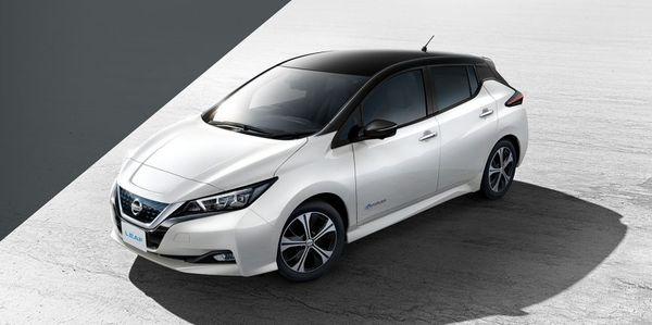 รถยนต์ไฟฟ้าที่ขายดีที่สุดในโลก Nissan Leaf