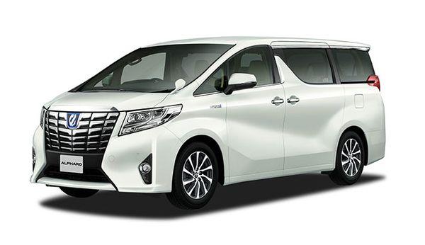 รถยนต์ Toyota Alphard ที่ราคายังถูกกว่า Toyota Mirai