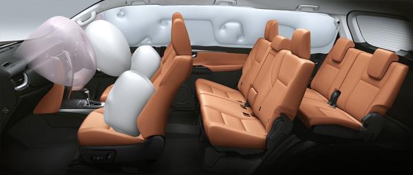 ความปลอดภัยของ Toyota Fortuner