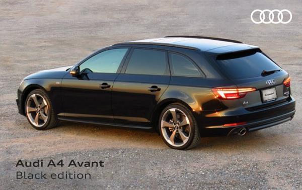 Audi A4 Avant 45 TFSI Black Edition