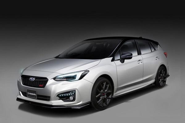 Subaru Impreza STI Concept car