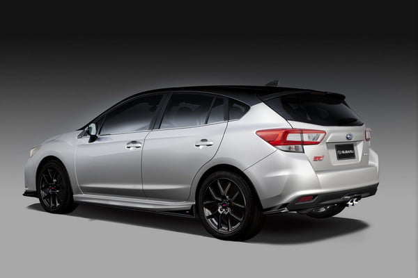 Subaru Impreza STI รถ Hatchback เวอร์ชั่น Concept
