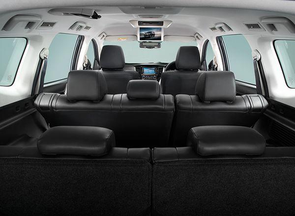 Mitsubishi Pajero Sport มีระบบจอภาพ Wide Screen เพื่อผู้โดยสารตอนหลัง