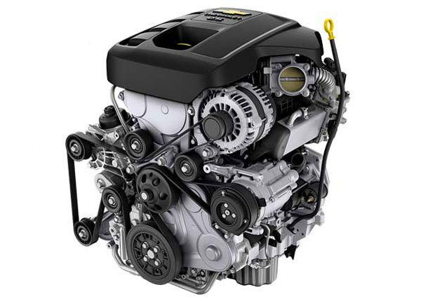 ขุมกำลัง Chevrolet Trailblazer 2.5ลิตร 180 แรงม้า