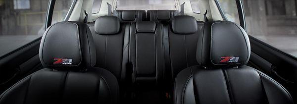 ภายในโทนดำของ Chevrolet Trailblazer