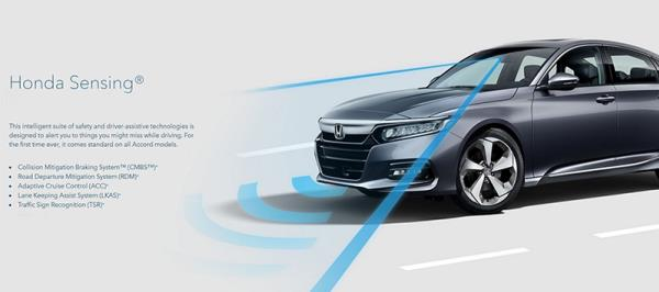เทคโนโลยีความปลอดภัยแบบอัจฉริยะ Honda SENSING ใน Honda Accord เจนเนอเรชั่นที่ 10