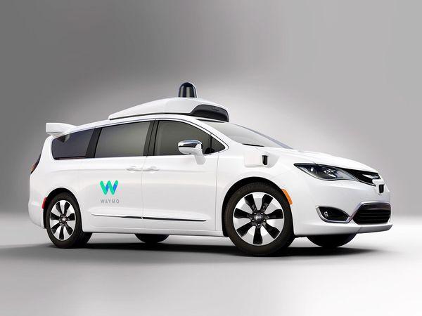 Waymo รถยนต์ไร้คนขับจาก Alphabet