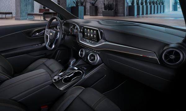 ภายใน ของ Chevrolet Blazer