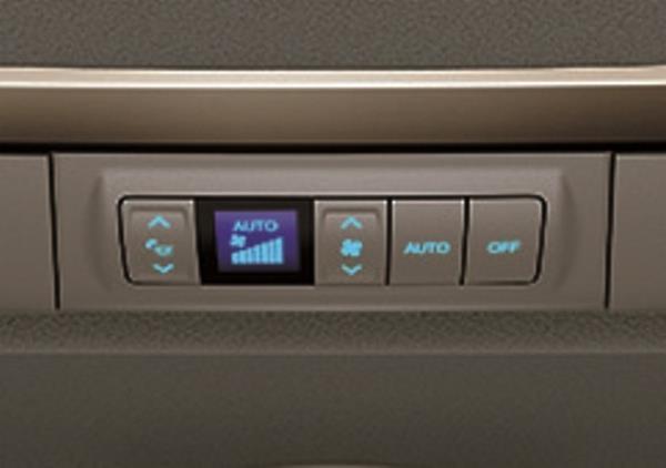 แผงควบคุมไฟห้องโดยสาร และเครื่องปรับอากาศแบบแยกส่วน
