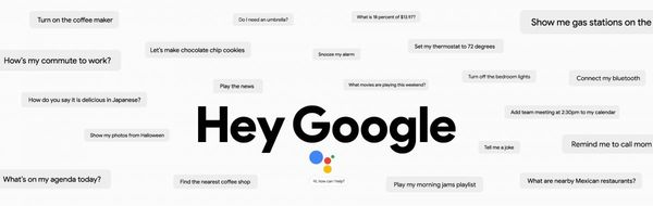 Hey Google คำสั่งด้วยเสียงอย่างหนึ่งที่ใช้กับ Google