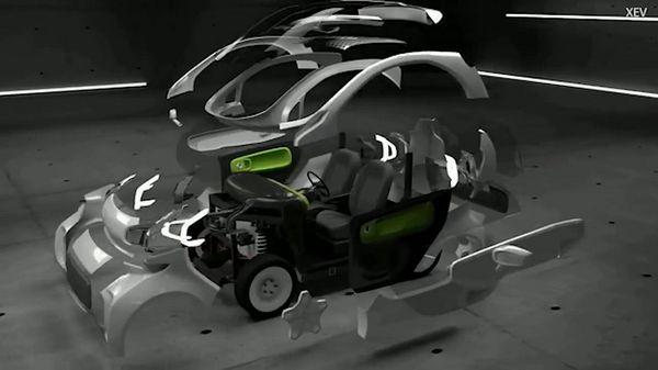 LSEV เป็นรถยนต์ที่มีการลดชิ้นส่วนต่างๆให้น้อยลง