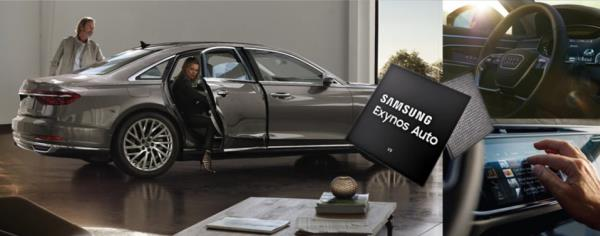 Samsung Exynos Auto V9 เพื่อรถไร้คนขับ