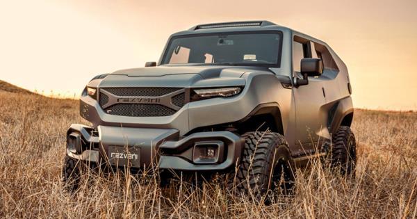 Rezvani Tank : Off-road SUV สุดแกร่งสัญชาติอเมริกัน เครื่องยนต์เบนซิน V8 6.4 ลิตร 500 แรงม้า