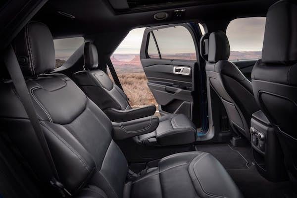 ดีไซน์ภายในของ Ford Explorer 2020 ใหม่