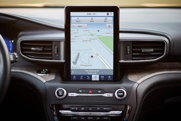 เทคโนโลยีภายใน Ford Explorer