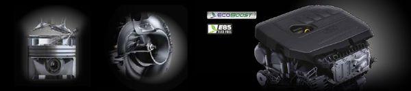 เครื่องยนต์ 1.5L GTDi EcoBoost Turbo ขนาด 1,498ซีซี ทำให้ประหยัดน้ำมันแต่ยังคงแรงต่อเนื่อง