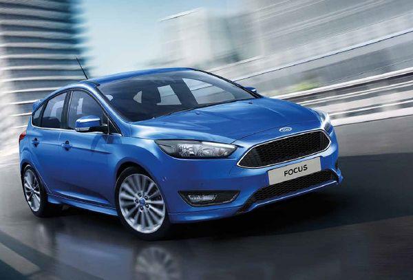ภายนอกของ Ford Focus ที่ดูสปอร์ตและโฉบเฉี่ยว