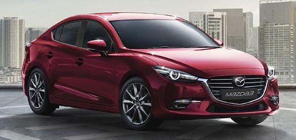 ภายนอกของ Mazda3ดีไซน์ทุกรายละเอียดที่เน้นความสปอร์ตไม่แพ้กัน