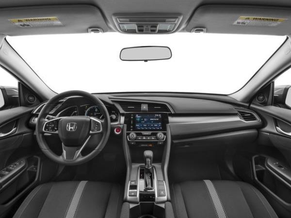 การดีไซน์ภายในของ Honda Civic