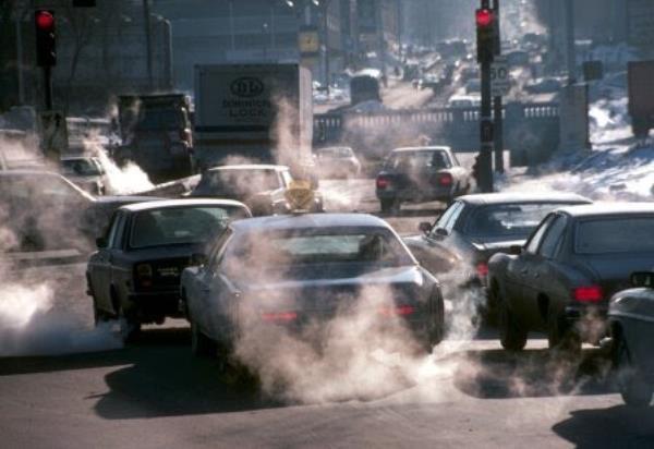PM2.5ทำให้สภาพของเมืองเหมือนมีหมอกลง แต่ร้ายกาจกว่าหมอกมากนัก