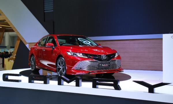 Toyota New Camry เมื่อเปิดตัวในงาน Motor Expo2018