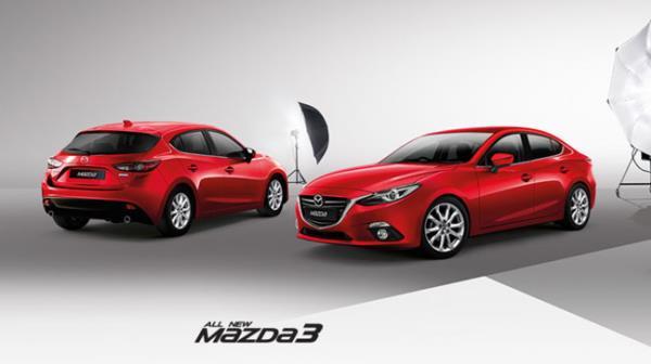 Mazda3 ครองอันดับ 1 ด้านความพึงพอใจของลูกค้าคนไทย ในประเภท  Midsize Car